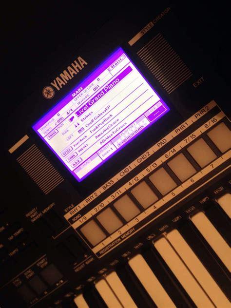 Keyboard Yamaha Psr S550 Bekas yamaha psr s550 image 1834306 audiofanzine