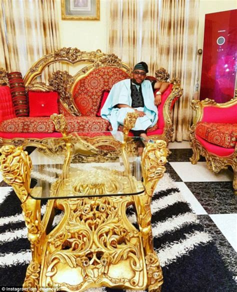 rich of nigeria put everyone in the shade with their lavish display of wealth daily mail