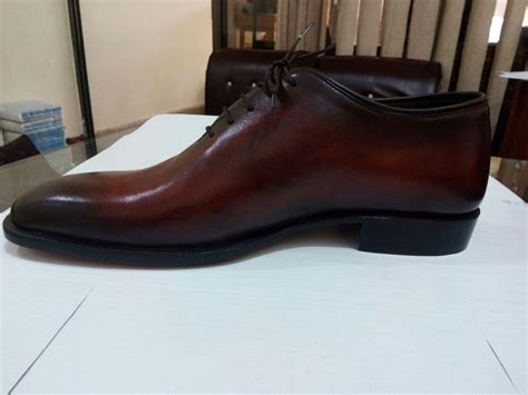 Handmade Shoes California - handmade brown formal shoes dress shoes