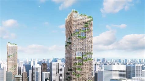 japanese company plans world s tallest wooden building
