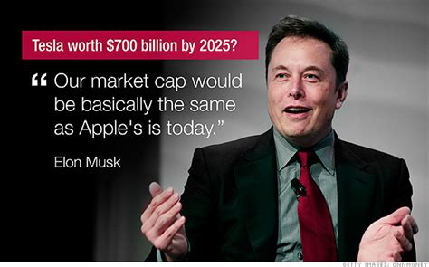 elon musk worth elon musk s insane call tesla is worth 700 billion