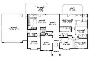 floor plans home ranch house plans brennon 30 359 associated designs