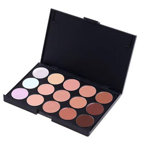 Palette Concealer Paket Kuasspons pro partei 15 farben contour make up concealer palette kit ebay