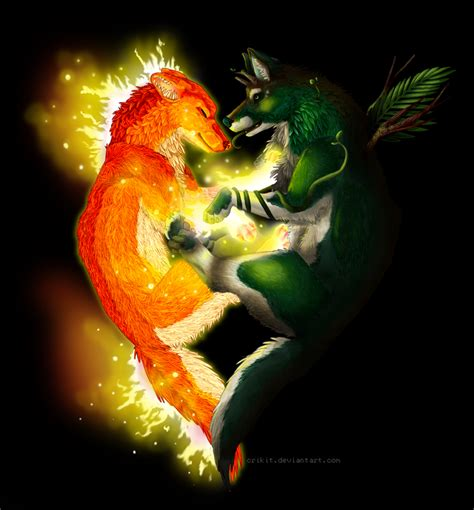 Earth Fireplace by Earth And Gaara And By Kpop Metalchik On
