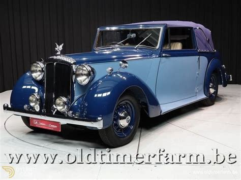 classic  daimler db  convertible  sale dyler