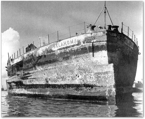 boat salvage yard south dakota uss oklahoma after pearl harbor my great uncle died on