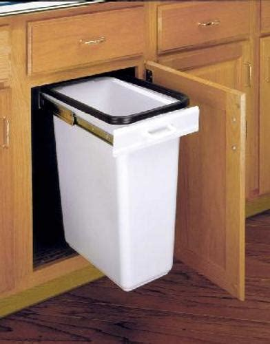 pull out cabinet trash can 30 quart in cabinet trash cans ez pull out trash can 30 quart almond ez 300 15 52