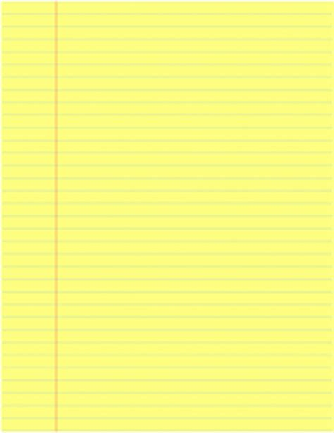 download yellow legal pad template for word