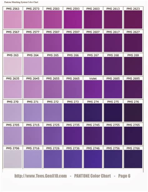 shades of purple chart never a dull moment 50 shades of purple a tutorial on