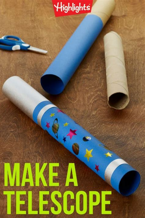 Paper Telescope Craft - lifeway vbs find more ideas for galactic starveyors