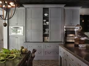 Dark Gray Cabinets Kitchen by Redirecting