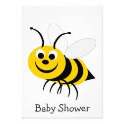 bumble bee baby shower invitation 5 quot x 7 quot invitation card