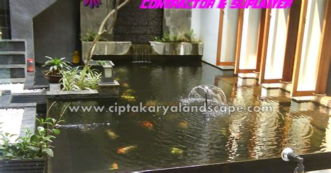 galeri foto kolam ikan koi jasa tukang taman jakarta