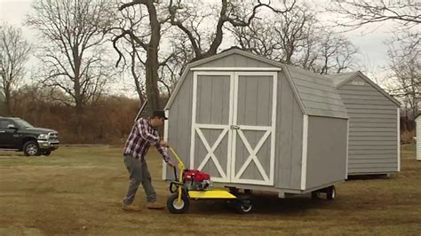 ny shed  shed mover  action youtube