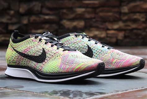 Sepatu Premium Nike Flyknit Racer Blue Lagoon nike flyknit racer multicolor release date sneakers addict