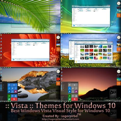 Steunk Themes For Windows 10 | vista themes final for win10 by sagorpirbd on deviantart