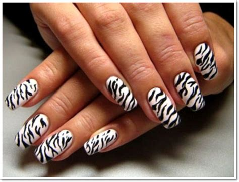 leopard pattern nail art 25 zebra print nails design ideas