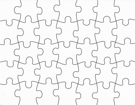 printable photo jigsaw puzzles search results for blank puzzle pieces to print