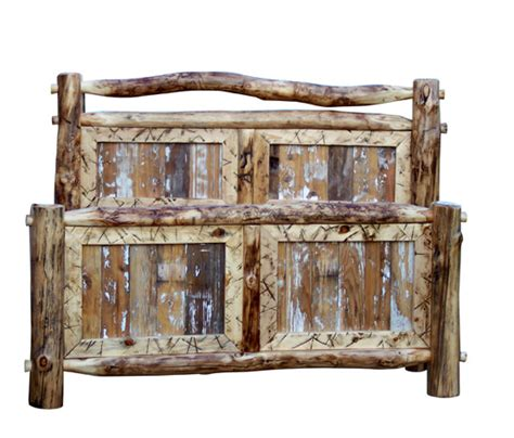 Barn Wood Bed Frames A Shopping Trip Via The 19th Annual Western Design Conference And
