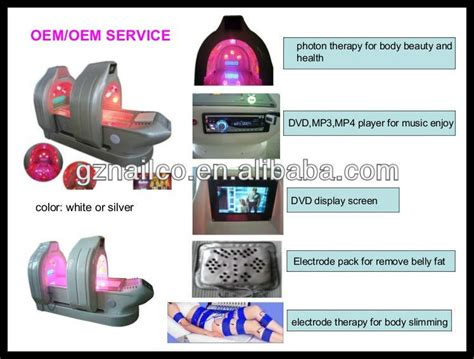 led light therapy for weight loss energy capsule led lights therapy bed for body weight loss