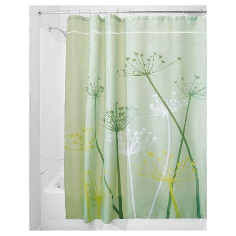 green shower curtain target thistle shower curtain interdesign 174 target