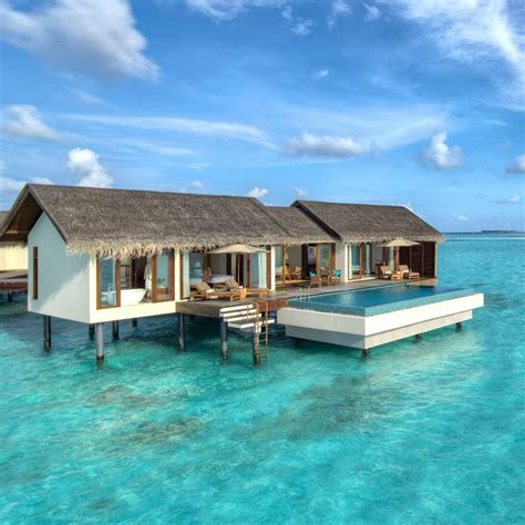 overwater bungalow overwater bungalow at the residence maldives maldives