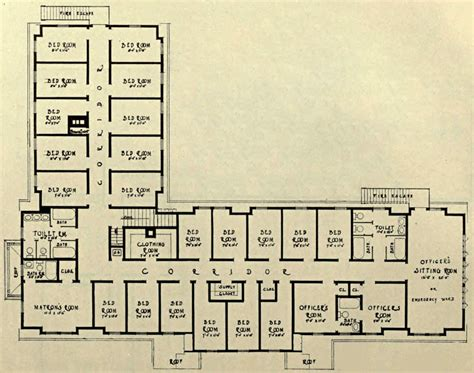 prison floor plan prison farms for women the bennet dictionary