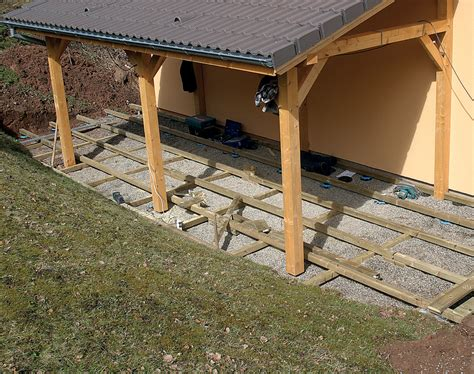 comment poser une terrasse en bois 4357 poser une terrasse en bois en l diy family