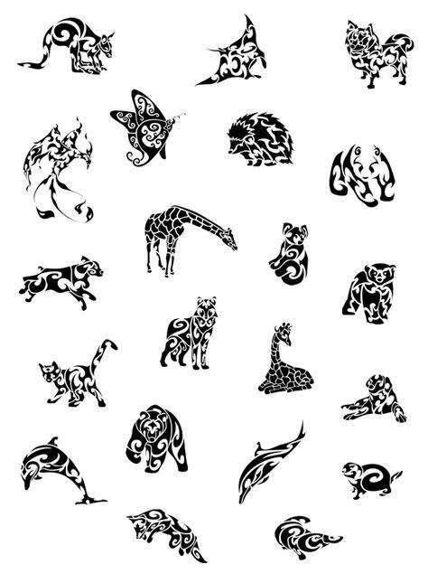 Tribal Pattern Animals | tribal animals group by hexephra on deviantart