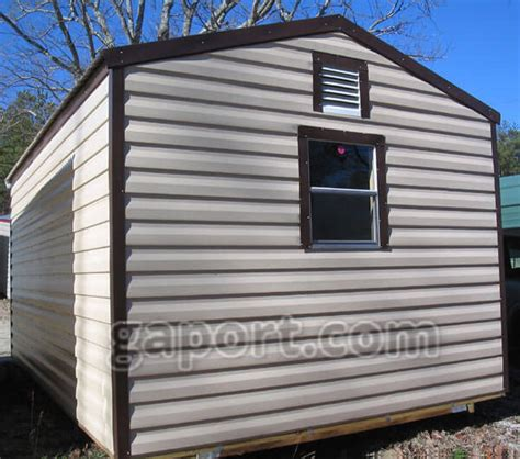 metal storage sheds common sizes including