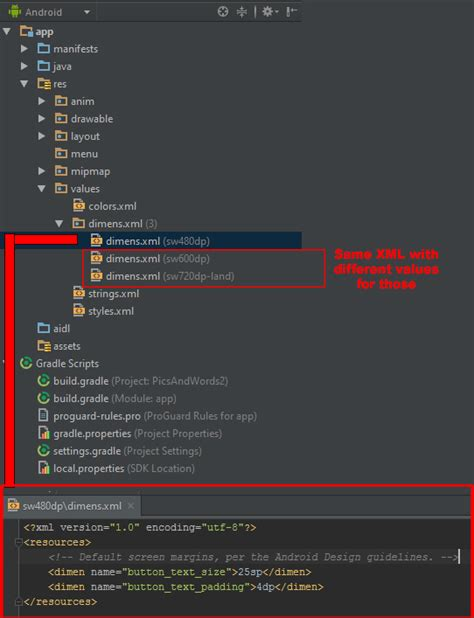 layout preview android studio not working smallest width qualifiers not working android studio