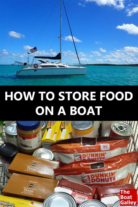 living on a boat tips how to store food on a boat power boats food storage