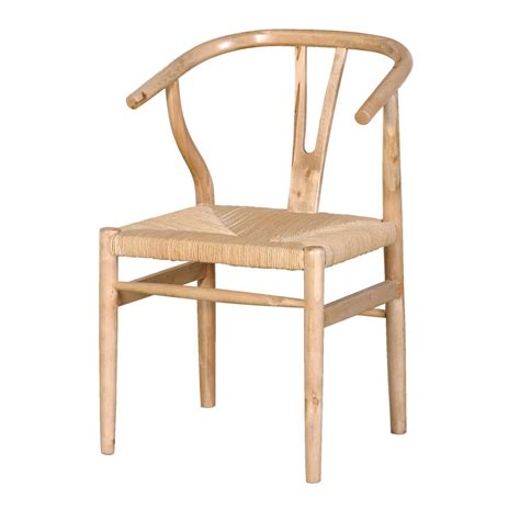 wide oak dining chair by out there interiors