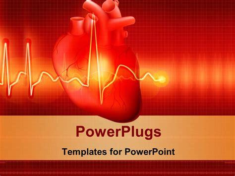 powerpoint design heart heart reflection powerpoint template heart reflection