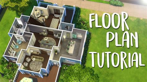 sims house floor plans the sims 4 how i create floor plans for my builds youtube