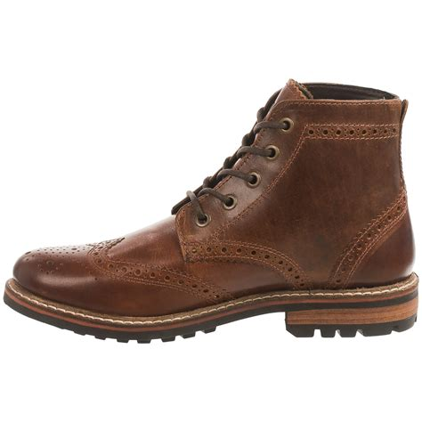mens wingtip boots crevo speakeasy wingtip boots for save 26