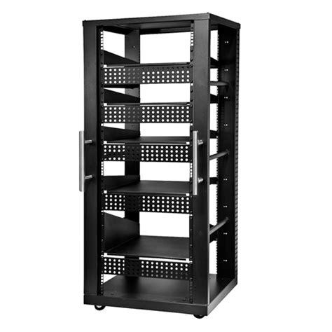 Peerless Rack peerless 30u av component rack system black avl