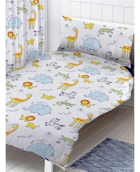 Safari Duvet Set Safari Single Duvet Cover And Pillowcase Set