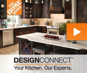 kitchen designconnect at the home depot