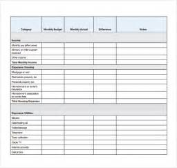 Budget Expenses Template 4 Daily Budget Spreadsheet Templates Excel Xlts