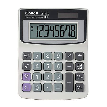 office depot desk ls canon ls 82z handheld basic calculator by office depot