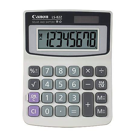office depot desk ls canon ls 82z handheld basic calculator by office depot