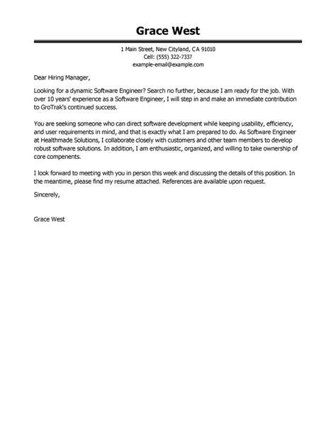 software developer cover letter exles application letter sle cover letter exle software