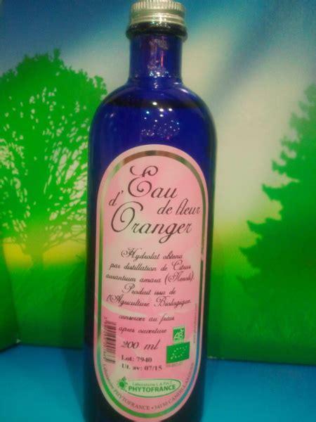 eau de fleur d oranger cuisine eau florale de fleur d oranger bio naturado cosm 233 tique