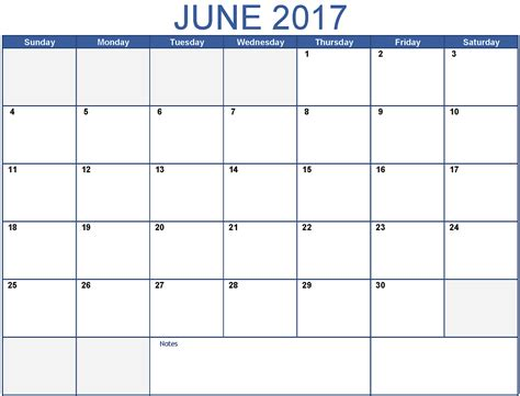printable calendar 2017 with times june 2017 printable calendar template holidays excel