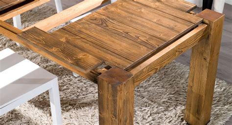 tavolo quadrato allungabile legno tavolo allungabile in legno in promozione scontato 43