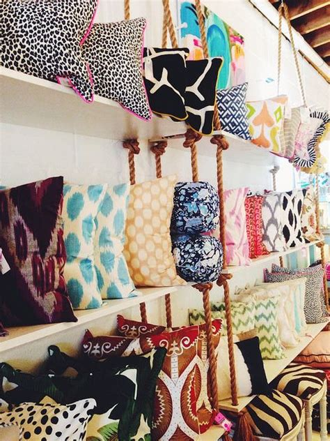 how to store pillows furbish pillow display love craft show booth ideas