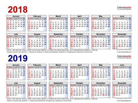 year calendars printable templates