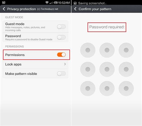 pattern lock application how to lock or password protect apps on xiaomi mi3 android