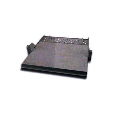 mensola nera mensola estraibile per rack porta tastiera nera